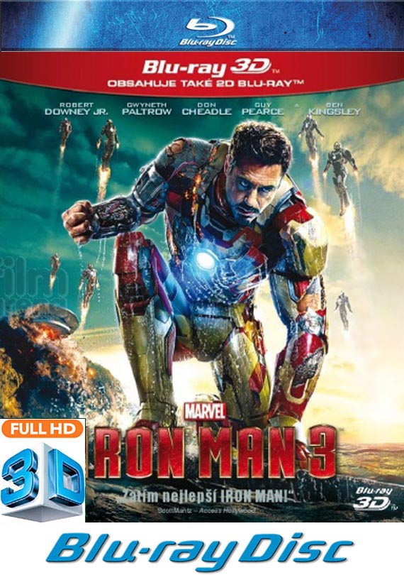 Iron Man 3 3D BD
