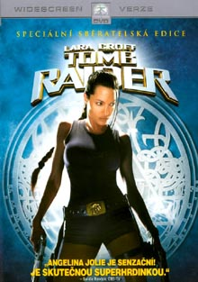 Lara Croft Tomb Raider DVD