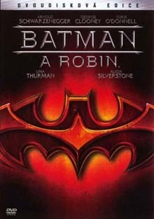 Batman a Robin DVD