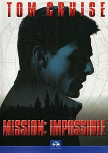 Mission: Impossible DVD film
