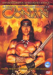 Barbar Conan DVD film