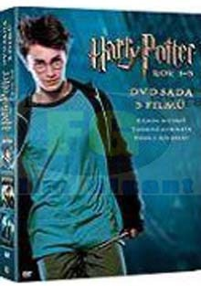 Harry Potter rok 1-3 DVD