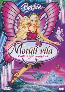 Barbie Motýlí víla DVD