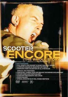 Scooter Encore (The Whole Story) DVD