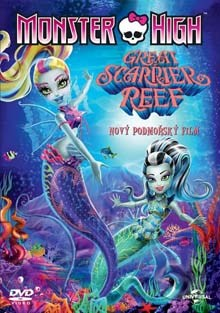 Monster High Great Scarrier Reef DVD