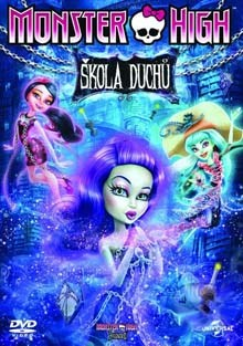 Monster High Škola duchů DVD