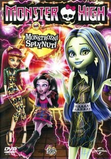 Monster High Monstrózní splynutí DVD