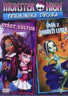 Monster High Frikulínská dvojka DVD