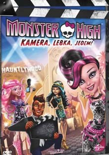 Monster High Kamera,lebka,jedem! DVD