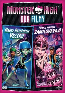 Monster High Dva filmy DVD
