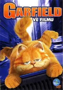 Garfield ve filmu DVD