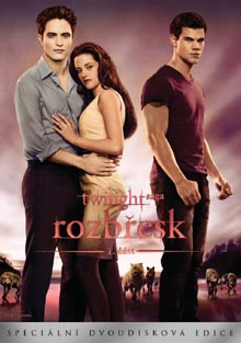 Twilight saga: Rozbřesk DVD