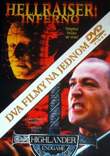 Hellraiser:Inferno / Highlander:Endgame DVD