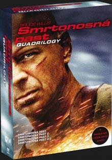 Smrtonosná past Quadrilogy DVD