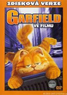 Garfield ve filmu SE DVD